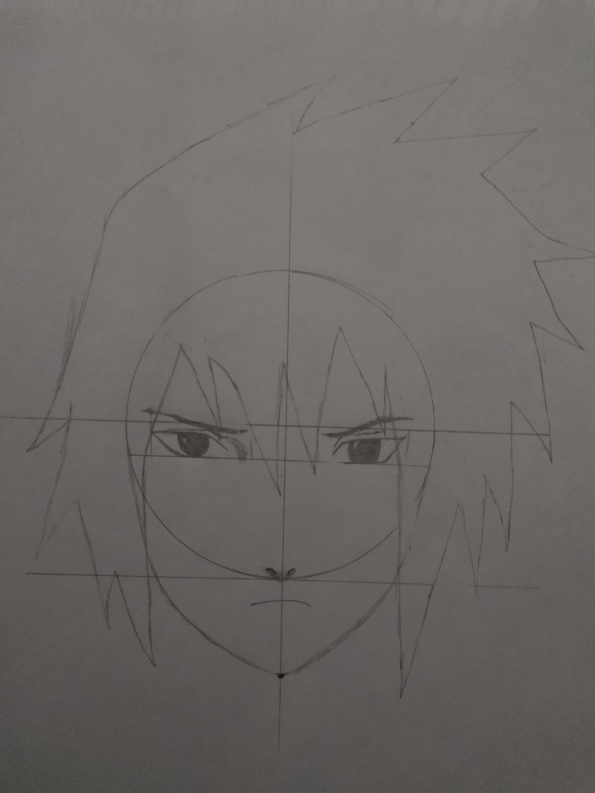 Passo 12 De Como Desenhar o Sasuke - How to Draw Sasuke - Video Teaches Sasuke in Less than 5 Minutes!