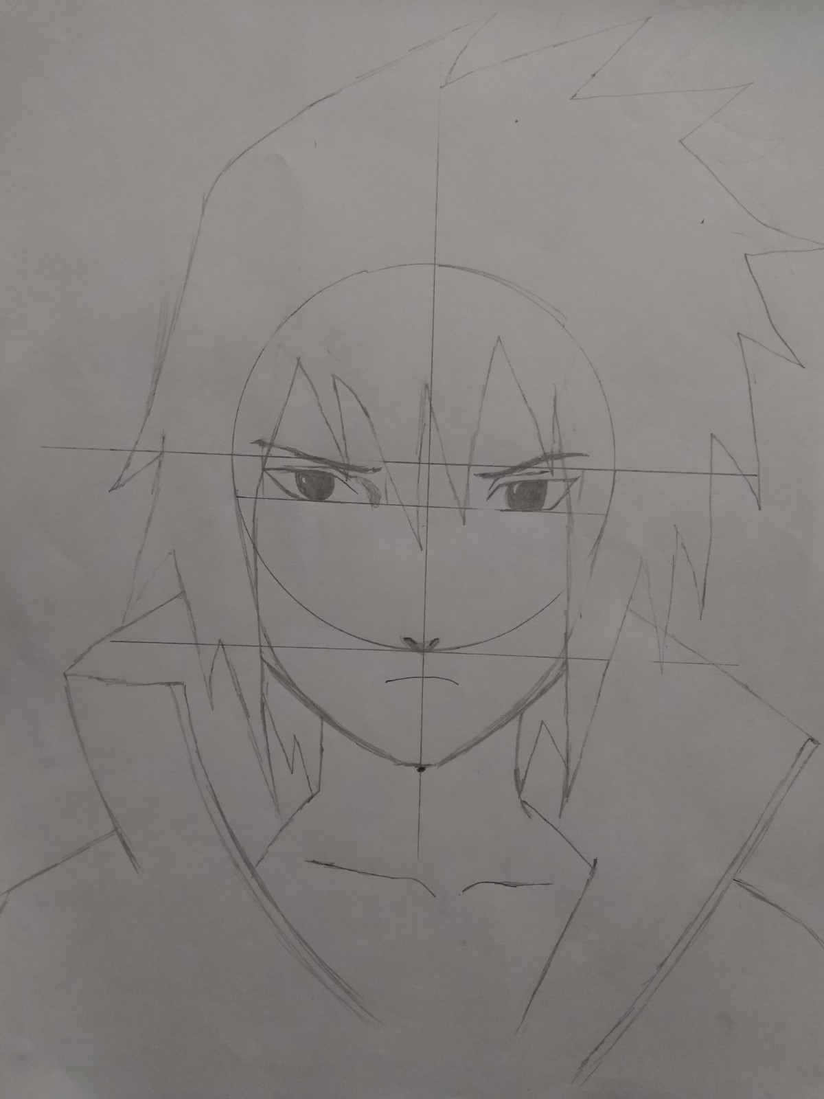 Passo 13 De Como Desenhar o Sasuke - How to Draw Sasuke - Video Teaches Sasuke in Less than 5 Minutes!