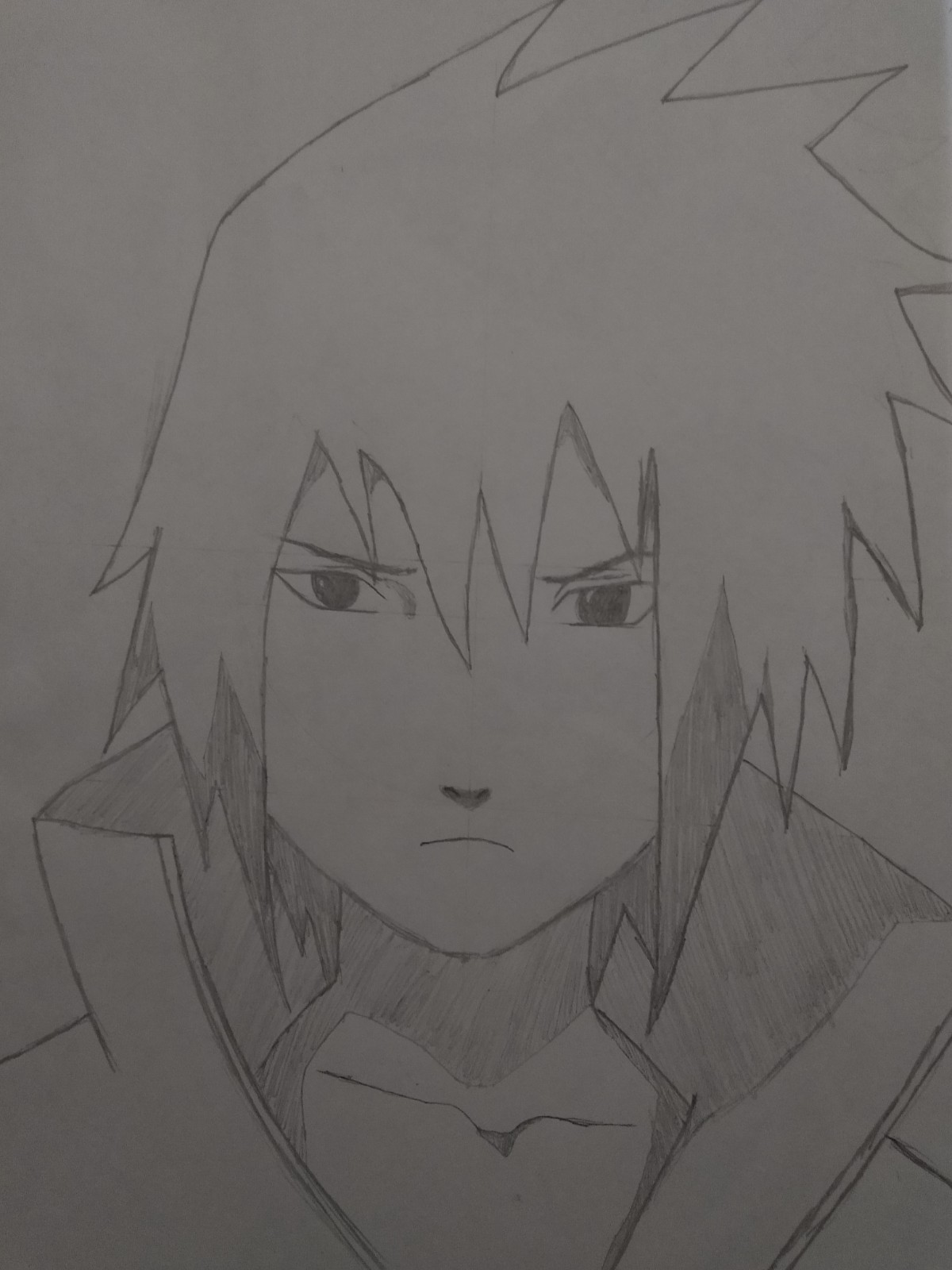 Passo 14 De Como Desenhar o Sasuke - How to Draw Sasuke - Video Teaches Sasuke in Less than 5 Minutes!