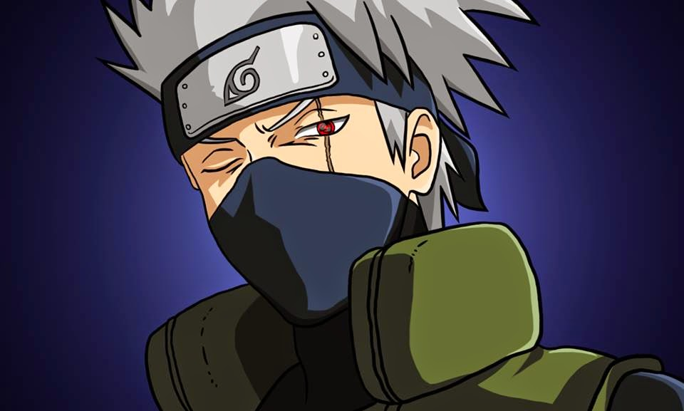 Como Desenhar o Kakashi - How to Draw Kakashi - Drawing Kakashi with Exclusive and Easy Method