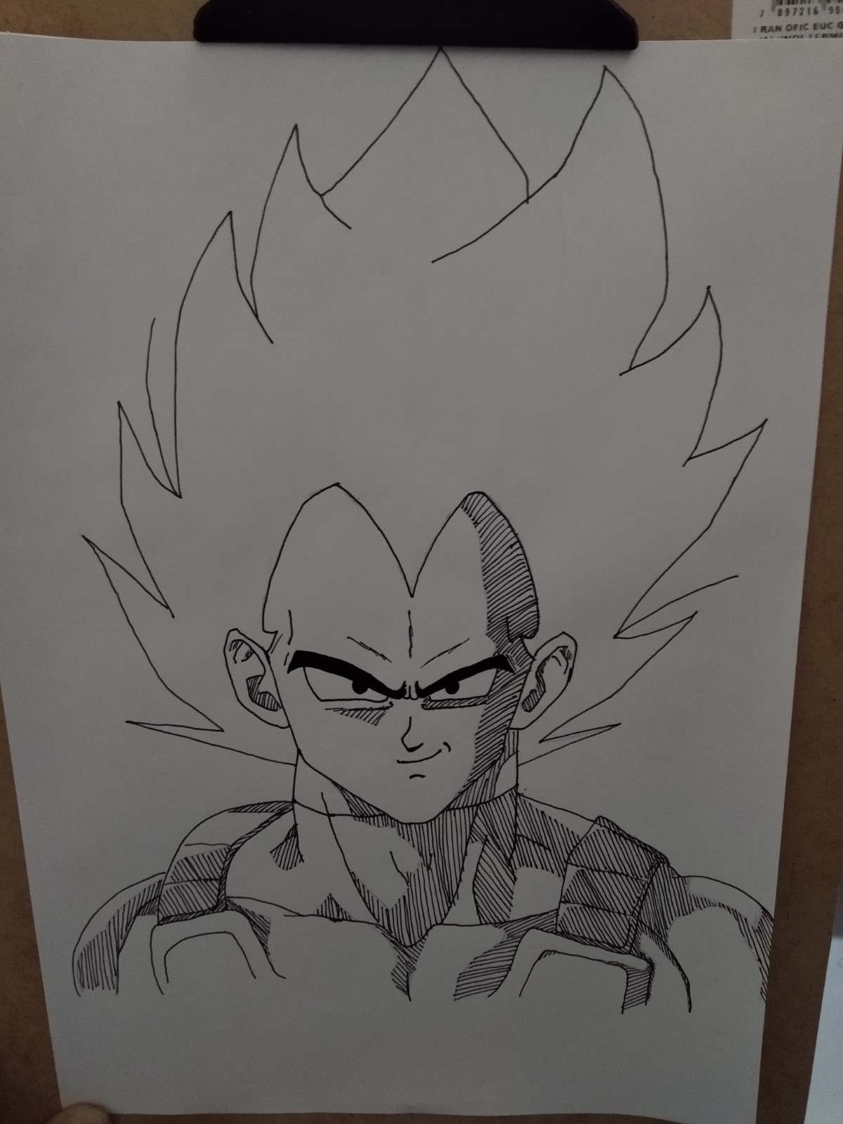 Passo 16 - How to Draw Vegeta - Complete and Proven Official Method!